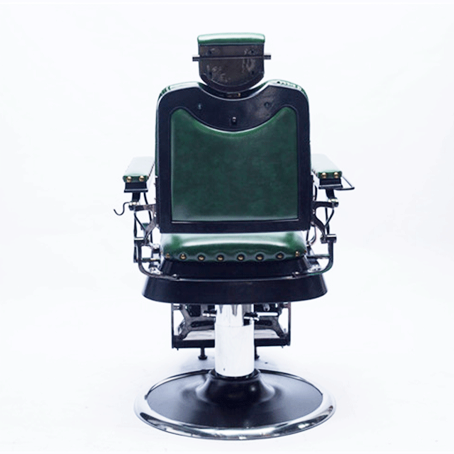 Source New style green durable heavy duty antique used classic vintage  luxury electric barber chair for - Source New Style Green Durable Heavy Duty Antique Used Classic