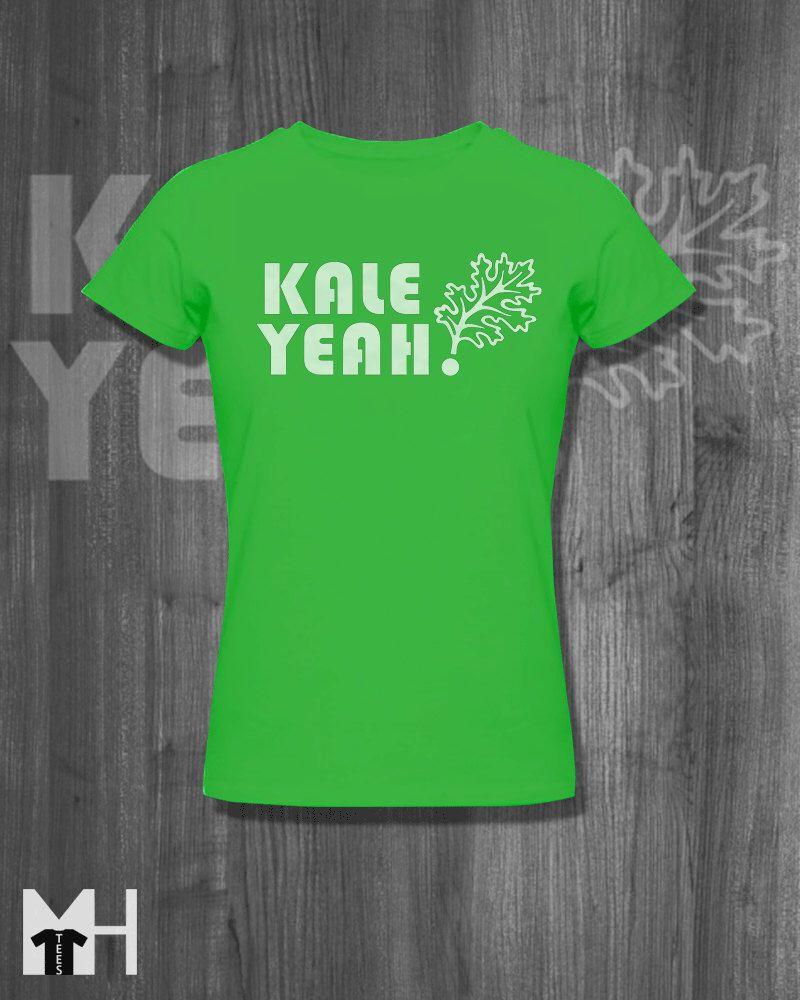 378f98f31 Foodie T shirt Kale Yeah Tshirt Local Farm Women Clothing Farm food Tshirt  Funny Vegetable Clothing