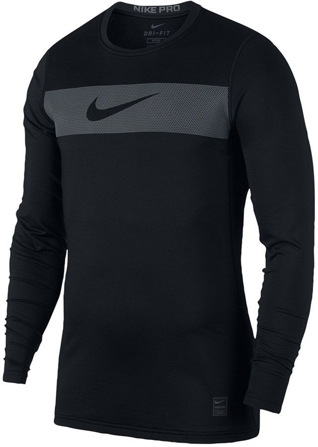 ccc45e9c5b96f Nike Men s Pro Warm Dri-fit Compression T-Shirt   Products   Nike ...