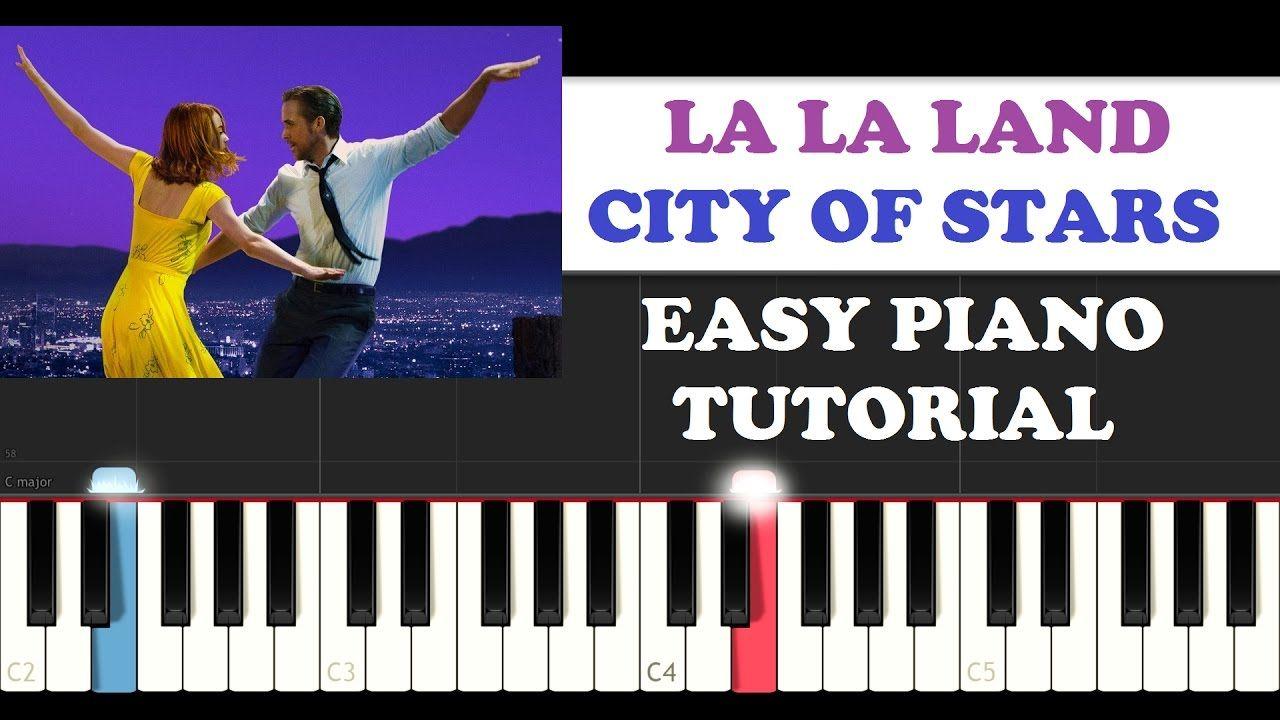 La La Land - City Of Stars (EASY Piano Tutorial + FREE PIANO SHEET)