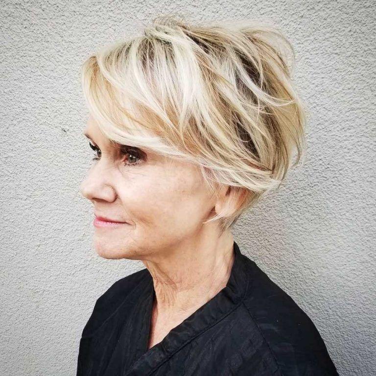 Die 26 jugendlichsten kurzen Frisuren für Frauen über 60