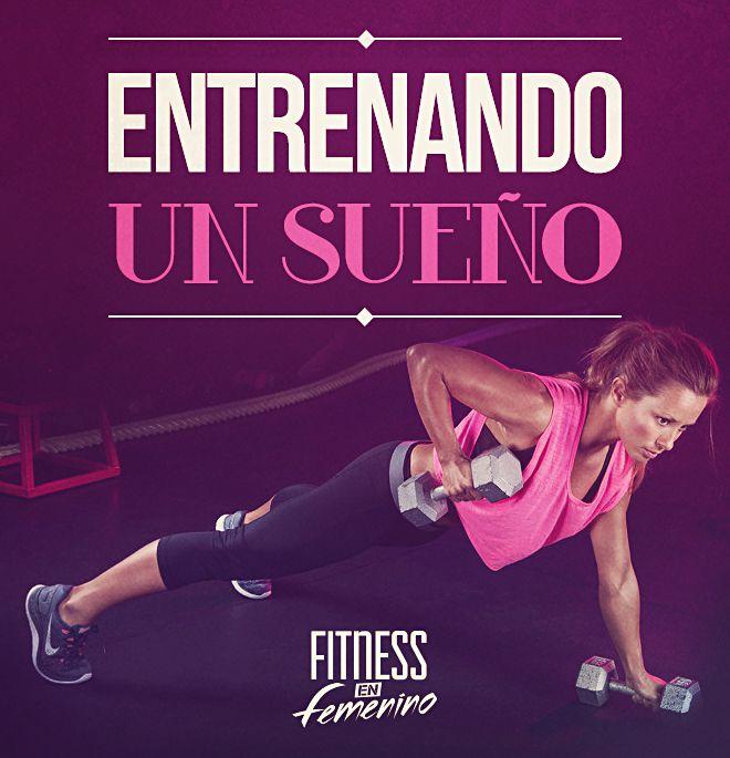 Entrenando Un Sueño Fitness En Femenino Motivacion