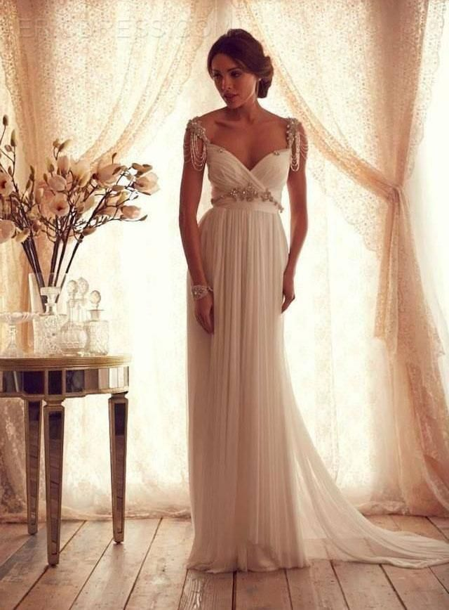 Fabulous A-Line Beading Wedding Dress Wedding Dresses 2015- ericdress.com 11175564