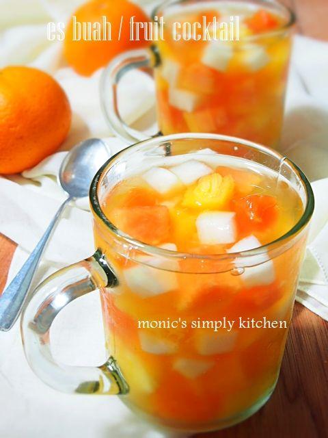 Resep Fruit Cocktail Resep Minuman Resep Koktail Makanan Dan Minuman