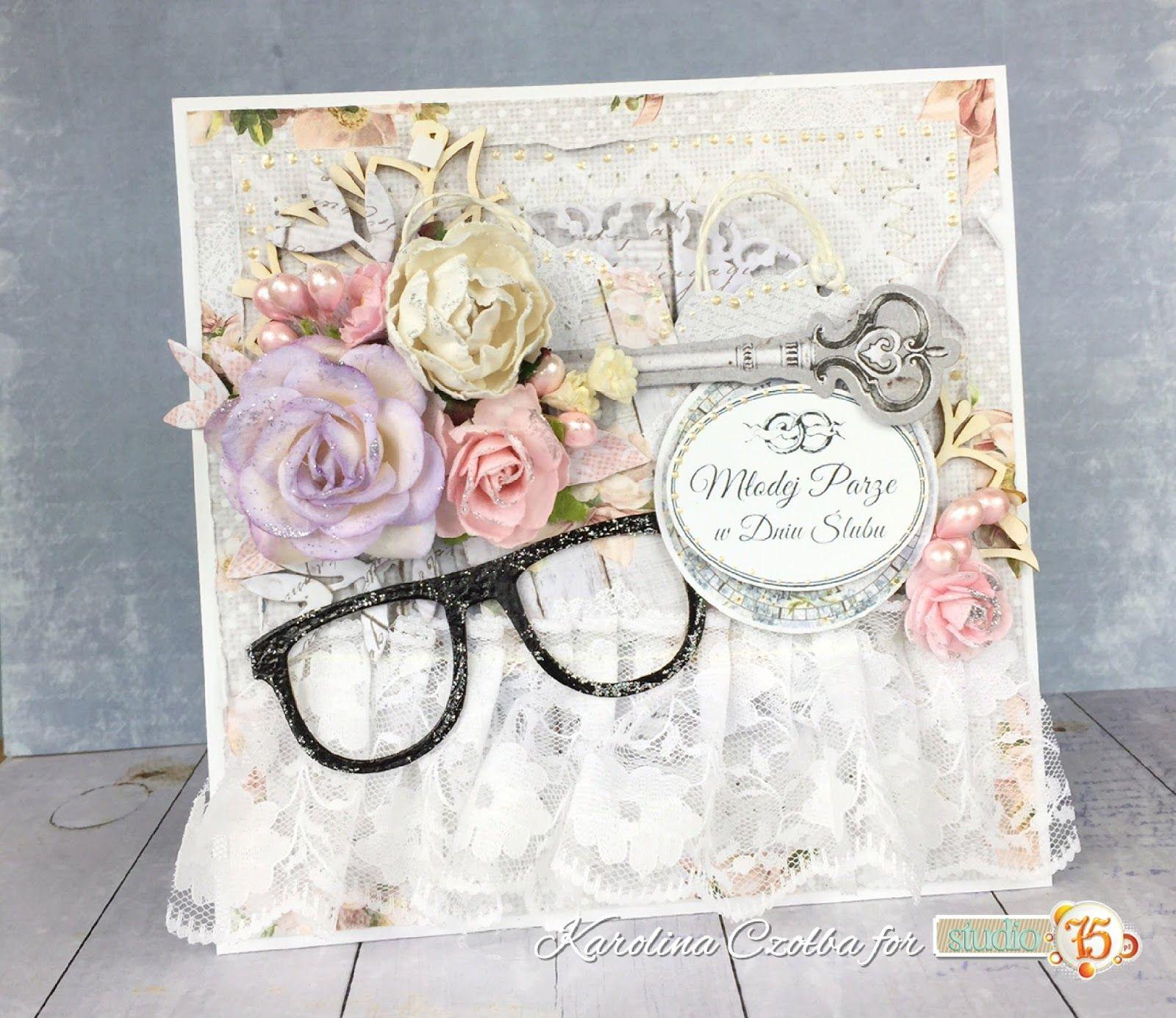 How to scrapbook wedding cards - Wedding Card From Studio 75 Papers Cardmaking Scrapbooking