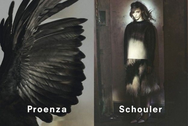 PROENZA SCHOULER - FALL/WINTER 2013 AD CAMPAIGN / PHOTOGRAPHED BY DAVID SIMS /