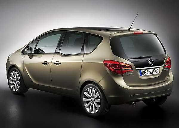2018-2019 opel meriva, — the second generation of the compact