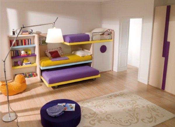 Camerette bambini salvaspazio | camerette | Furniture, Bunk ...