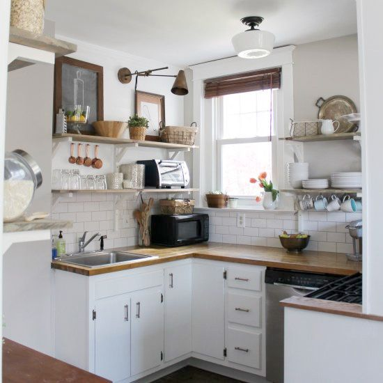 Kitchen Remodel On A Budget Before And After: Small Kitchen Remodeling Ideas On A Budget