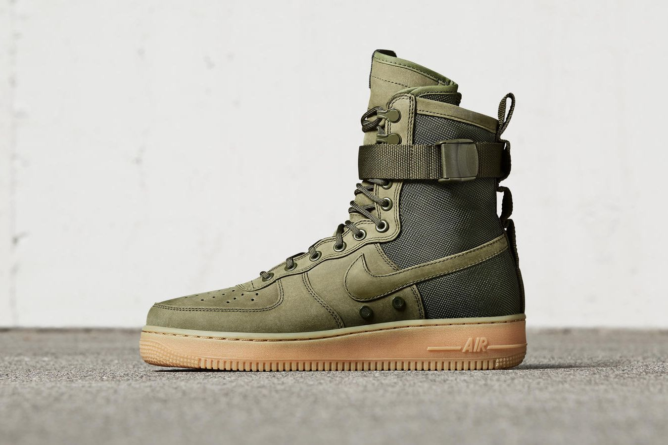 3674f77233492 The SF AF-1 is a winterized take on the iconic Air Force 1 silhouette.