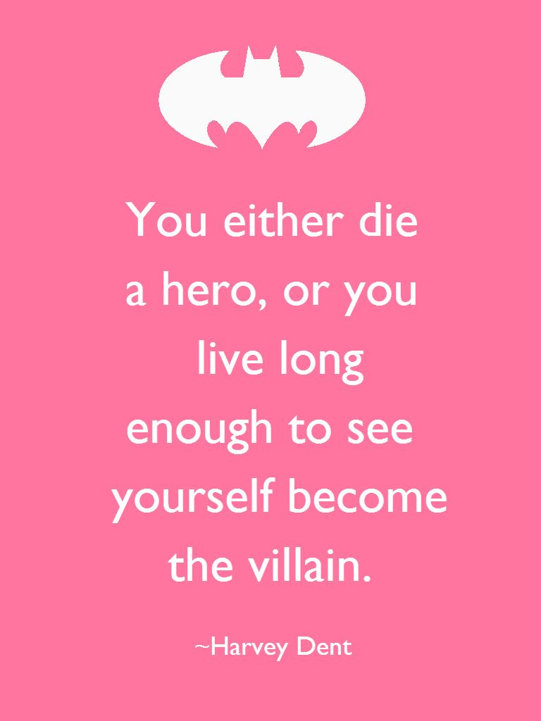 My Favorite Batman Quote Batman Pinterest Batman