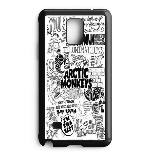 Arctic Monkeys City Samsung Galaxy Note Edge Case