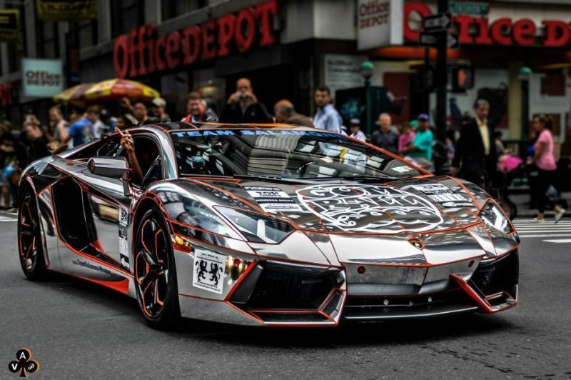 gumball the ojays and google on pinterest teaser the worlds first gold chrome lamborghini aventador - Lamborghini Aventador Chrome Purple