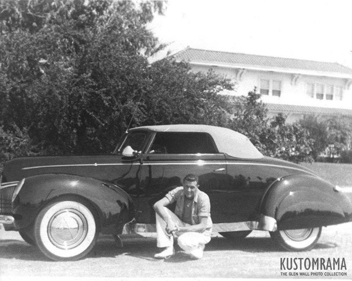 Here S Another Early Custom Car Photo From The Glen Wall Photo