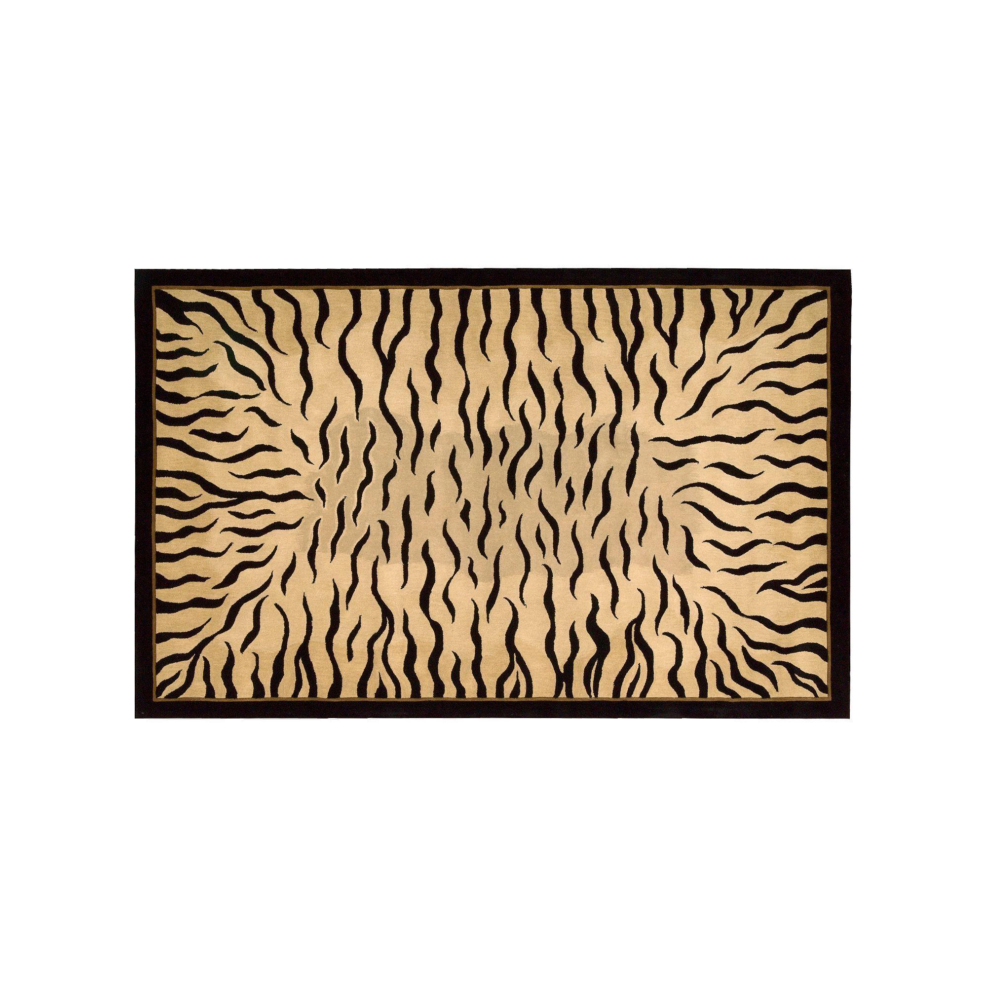 Nourison Dimensions Tiger Wool Rug