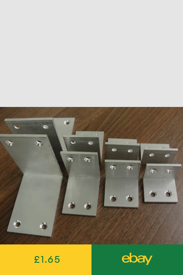 Size 44 & 50mm HD Aluminium Angles Corner Braces Mending
