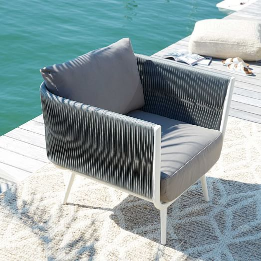 Incredible Twist Weave Lounge Chair West Elm Future Palm Springs Squirreltailoven Fun Painted Chair Ideas Images Squirreltailovenorg