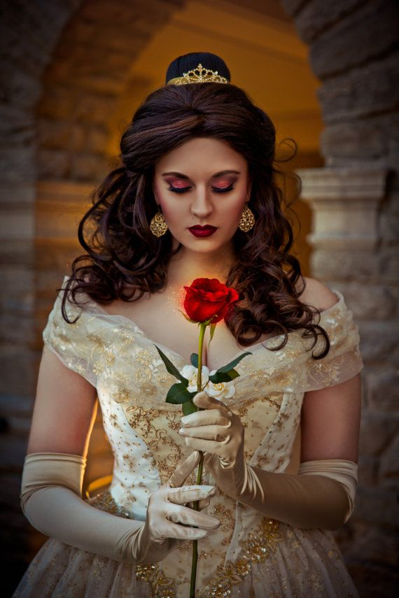 Beauty And The Beast Inspired Wedding Dress: Beauty And The Beast New Style Belle Wedding Gown Ivory