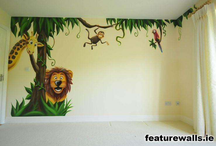 nursery murals for girls | nursery murals, toddler murals, baby ...