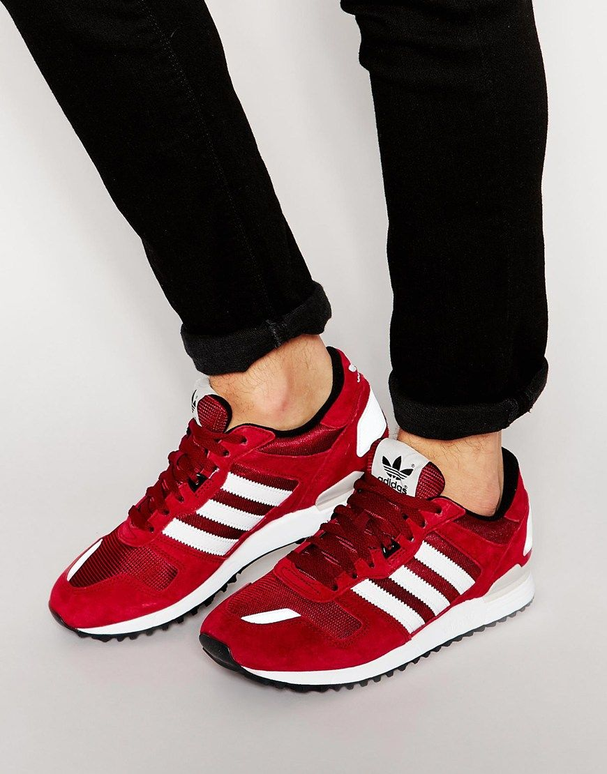 adidas originals zx 700 red