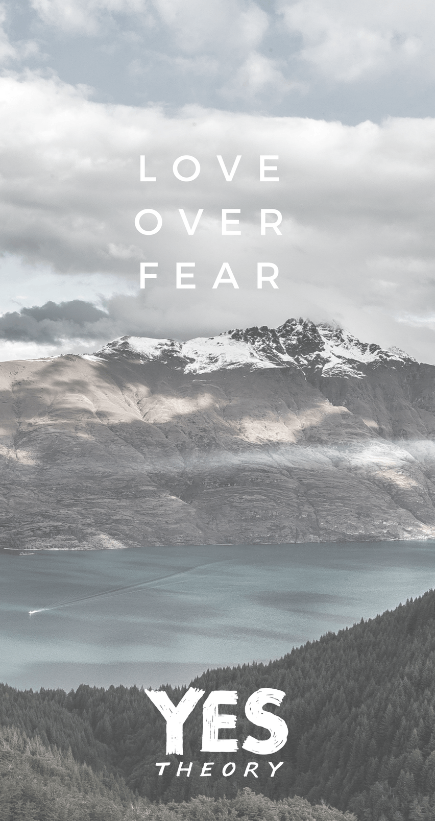 Bible Quotes Hd Wallpapers For Laptop Yes Theory Love Over Fear Phone Wallpaper Iphone