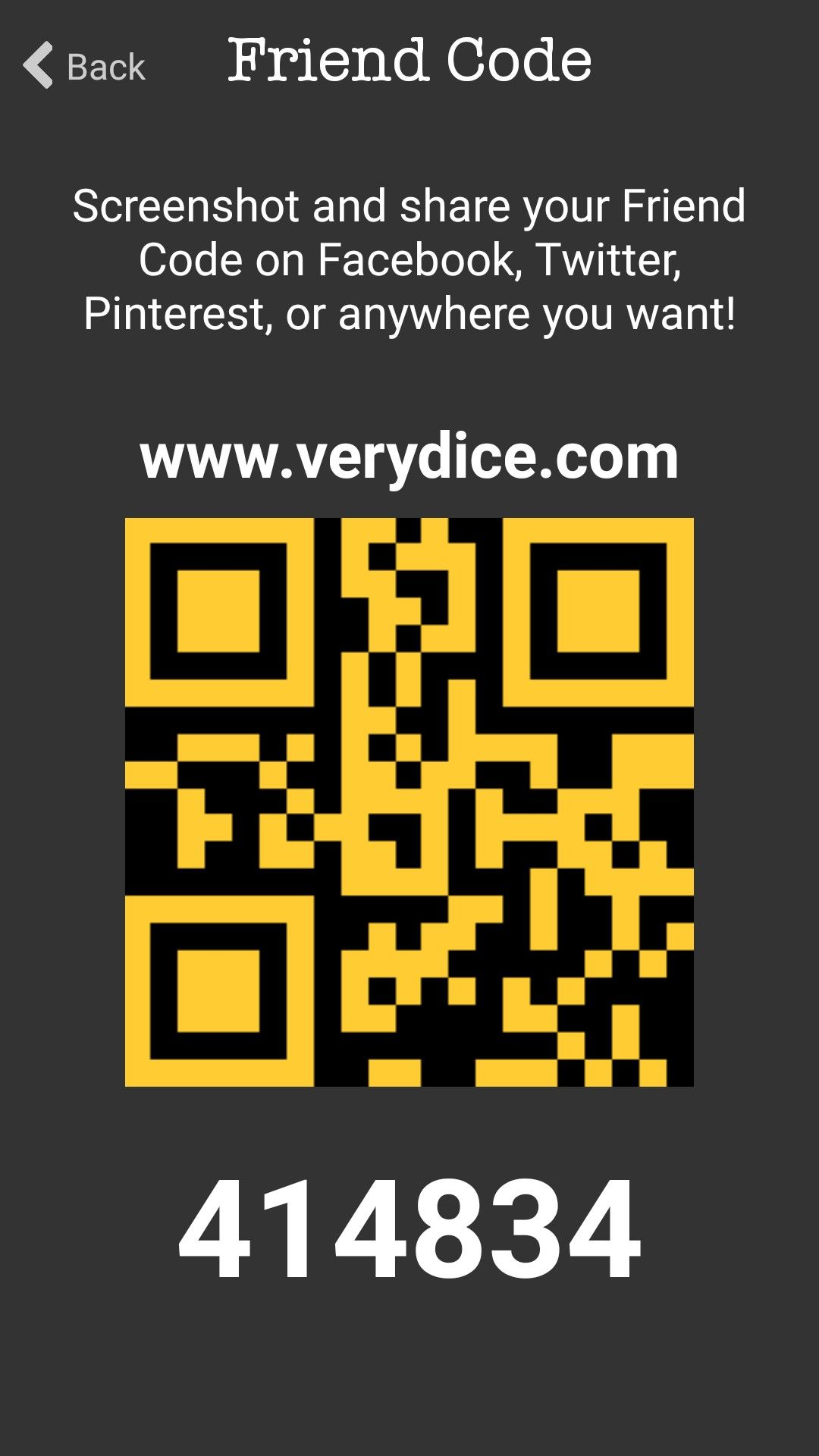 Verydice Coding, Qr code, This or that questions