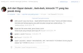 Bekasi Hentai Community Pengertian Kata Ikeh Ikeh Kimochi