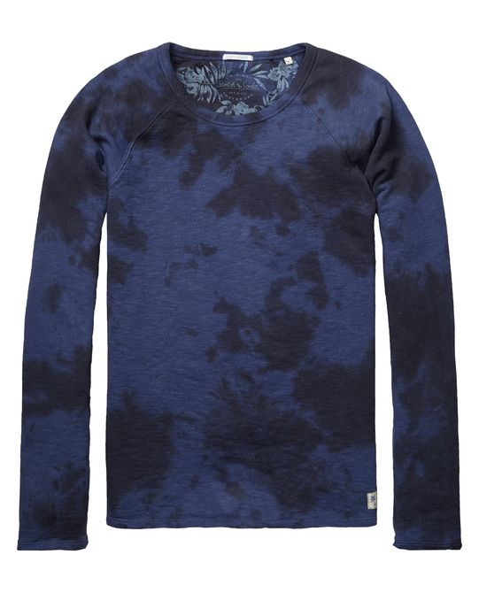 Classic crew neck sweater | sweat | Men Clothing at Scotch & Soda