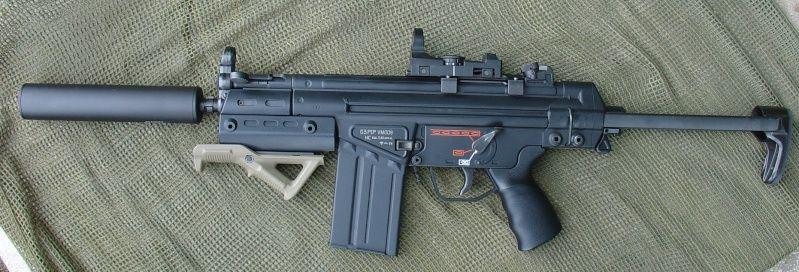 g3 sas aeg - Google Search | Armory | Guns, Firearms, Weapons