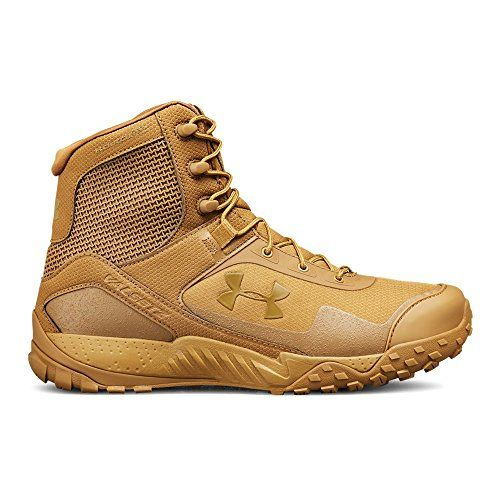 Photo of Under Armour Men's Valsetz RTS 1.5 Military and Tactical Boot Ridge Reaper (200)/Coyote Brown, 9.5