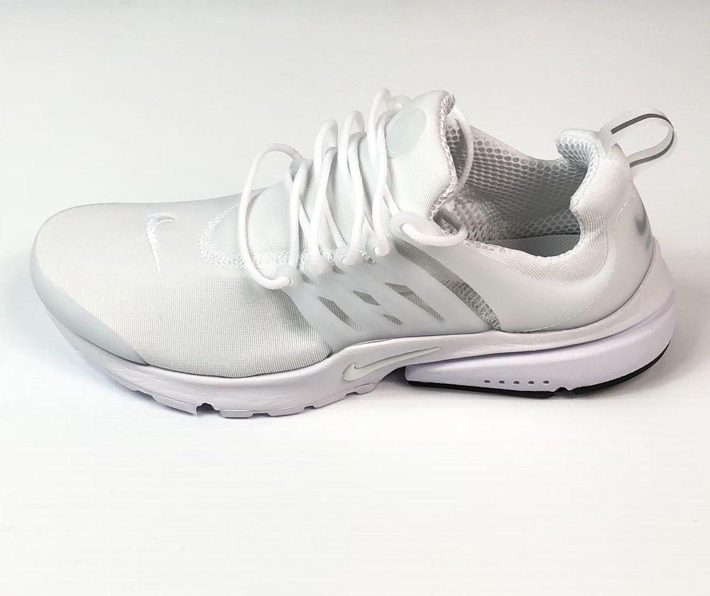 official photos 0cea0 f5aae Nike Air Presto Essential Triple White 848187-100 Men s Size 9  120 New    eBay