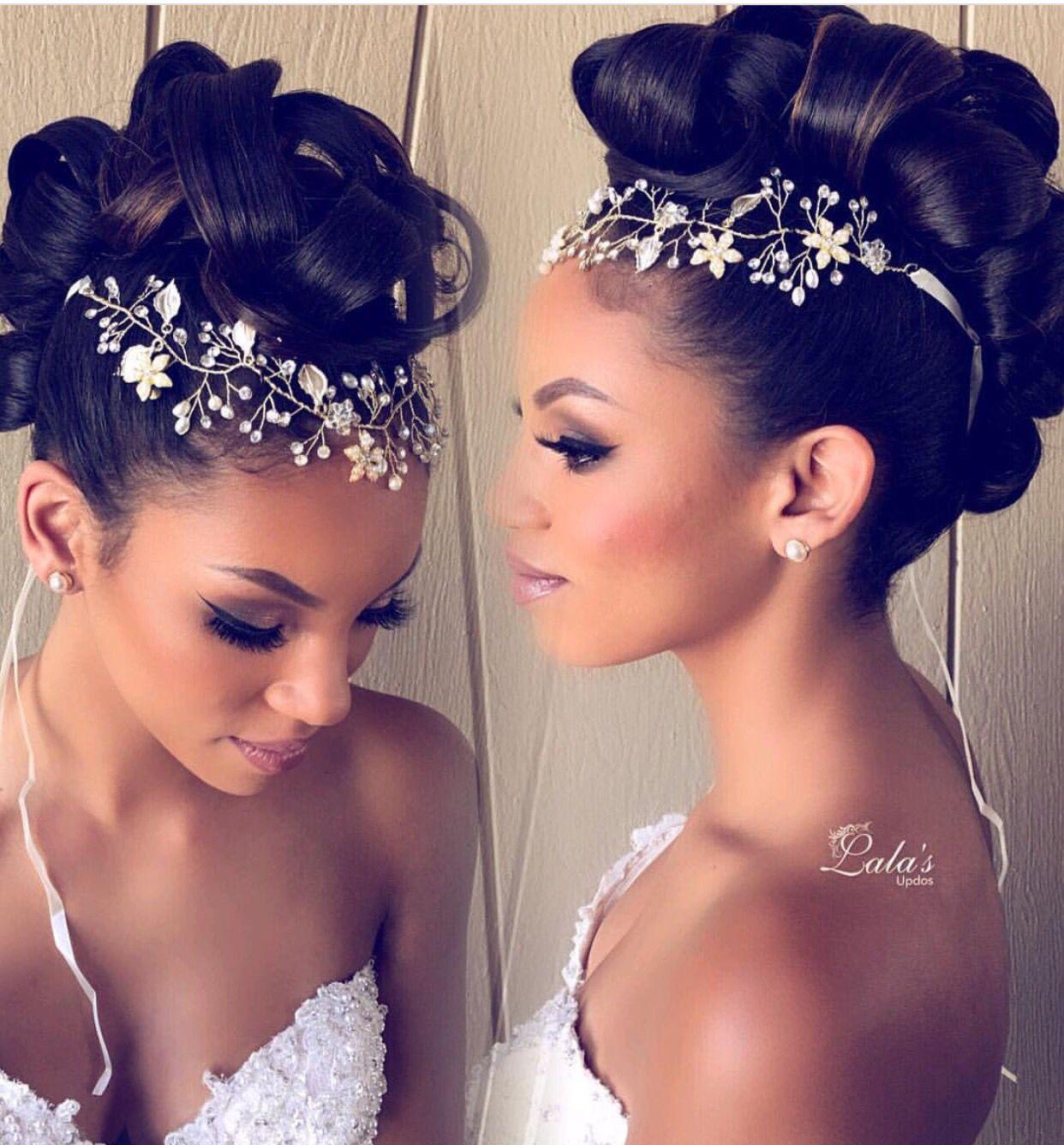 updo/ mohawk/ bridal hairstyles/ bridal updos/ wedding hair