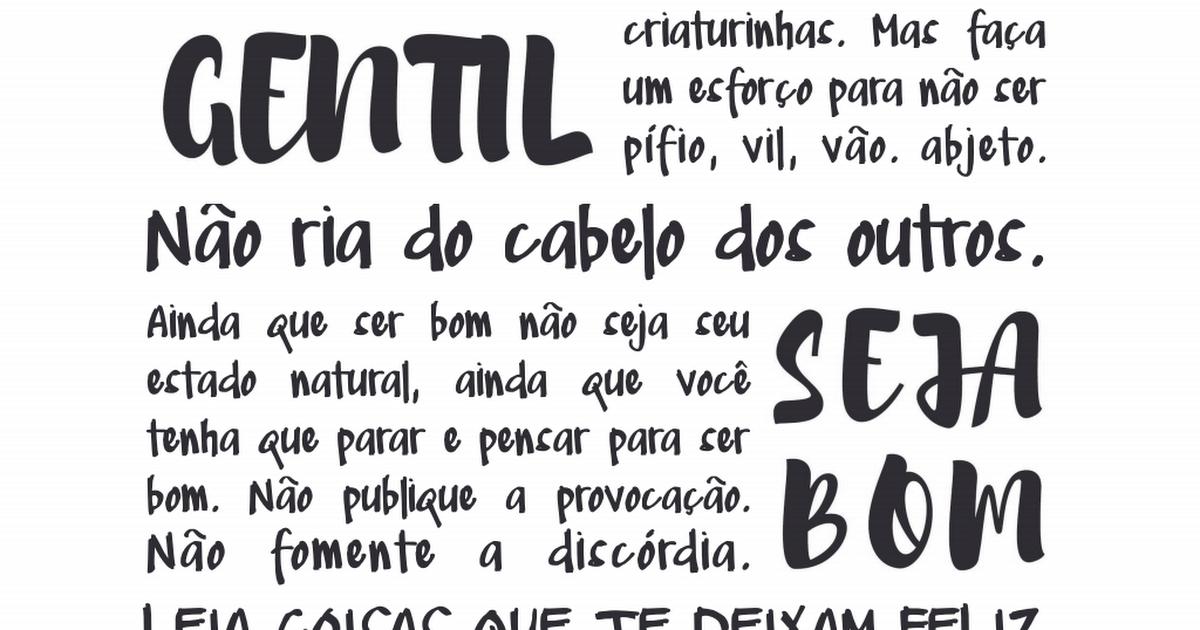 seja_gentil_fal_branco_rosa.pdf - DCoração.com