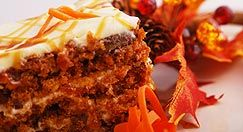 Carrot cake and muffin recipes