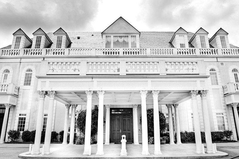 Entrance into the hall gardens at landmark wedding reception garner nc landmark buildings for The hall and gardens at landmark