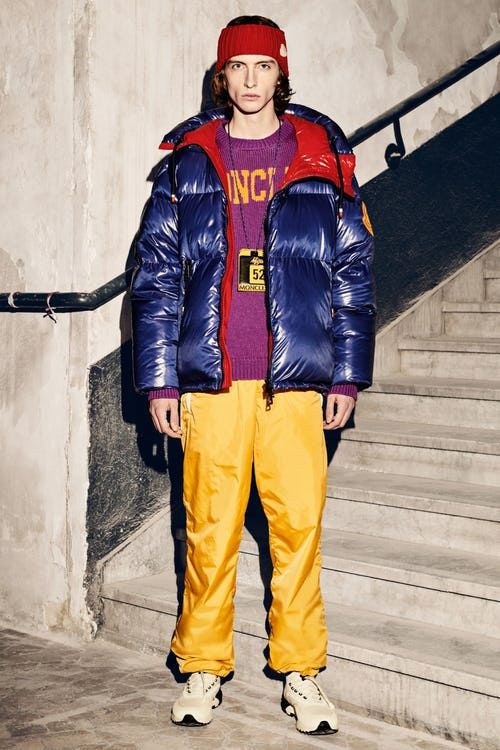 moncler genius yellow