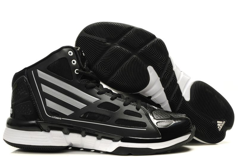 discount sale catch official Cheap black white adidas adizero derrick rose ghost shoe ...