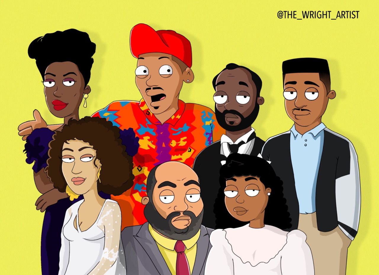 Fresh Prince Of Bel Air Black Girl Magic Art Black Girl Art Art