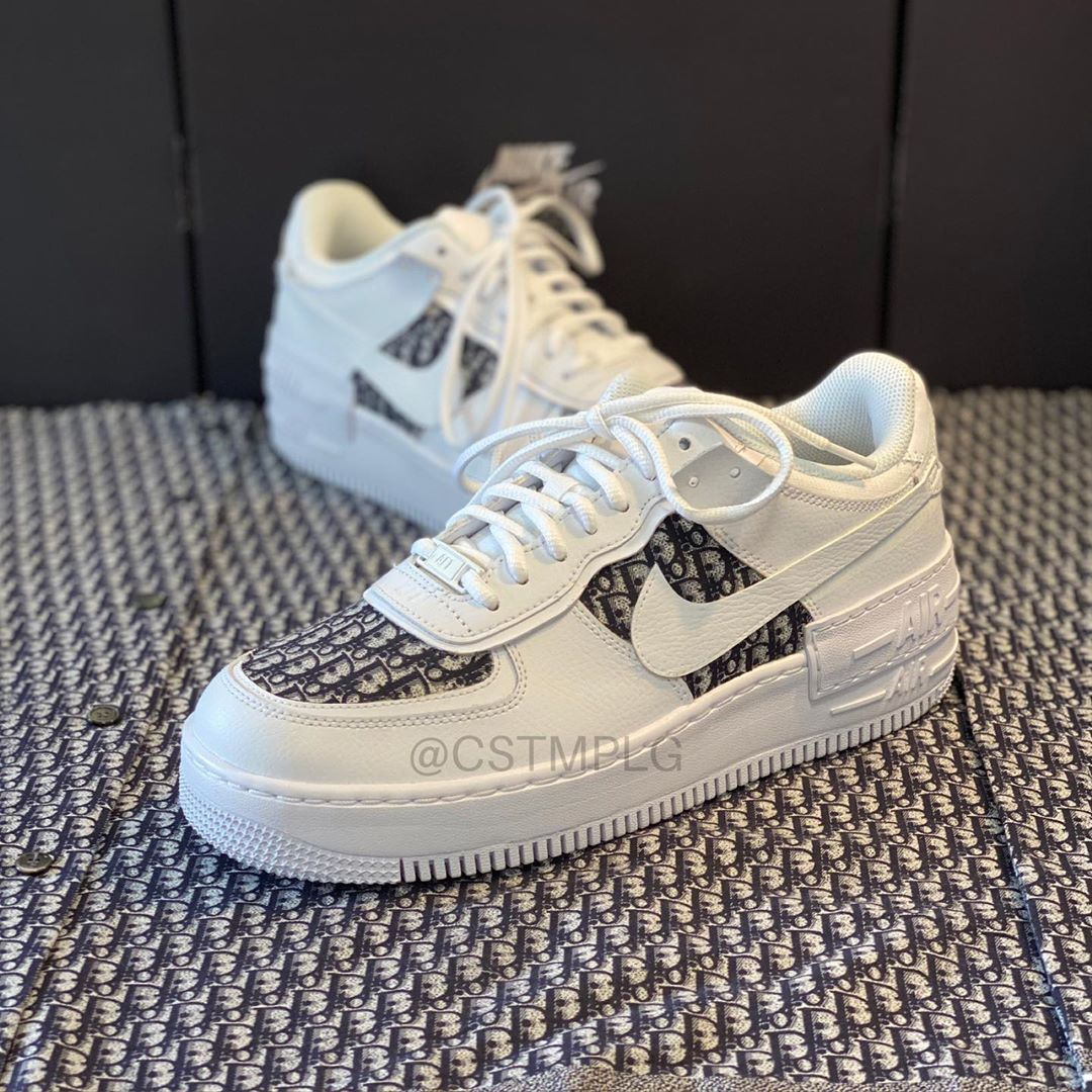 Pin On Wish List This nike air force 1 shadow comes with an iridescent pixelated swoosh. pin on wish list
