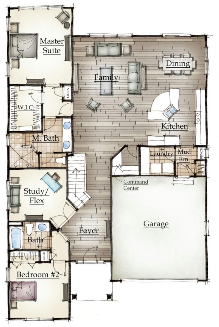 Mayberry 39 S Norway Floor Plan Cottage Plans Pinterest