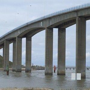 Noirmoutier En L Ile Bridge Barbatre La Barre De Monts 1971 Road Bridge Bridge Civil Engineering