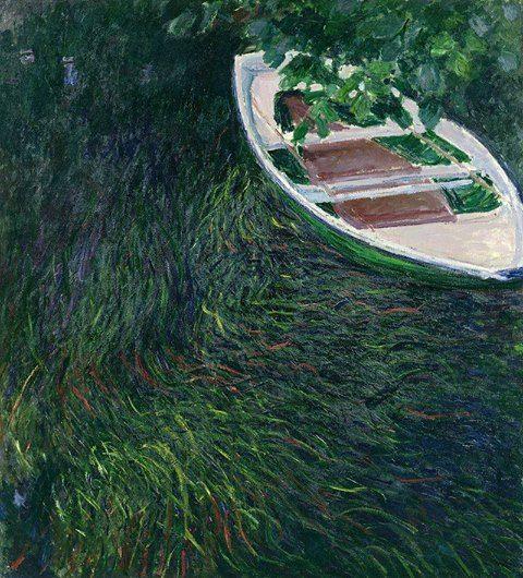 Claude Monet - La barque, 1887