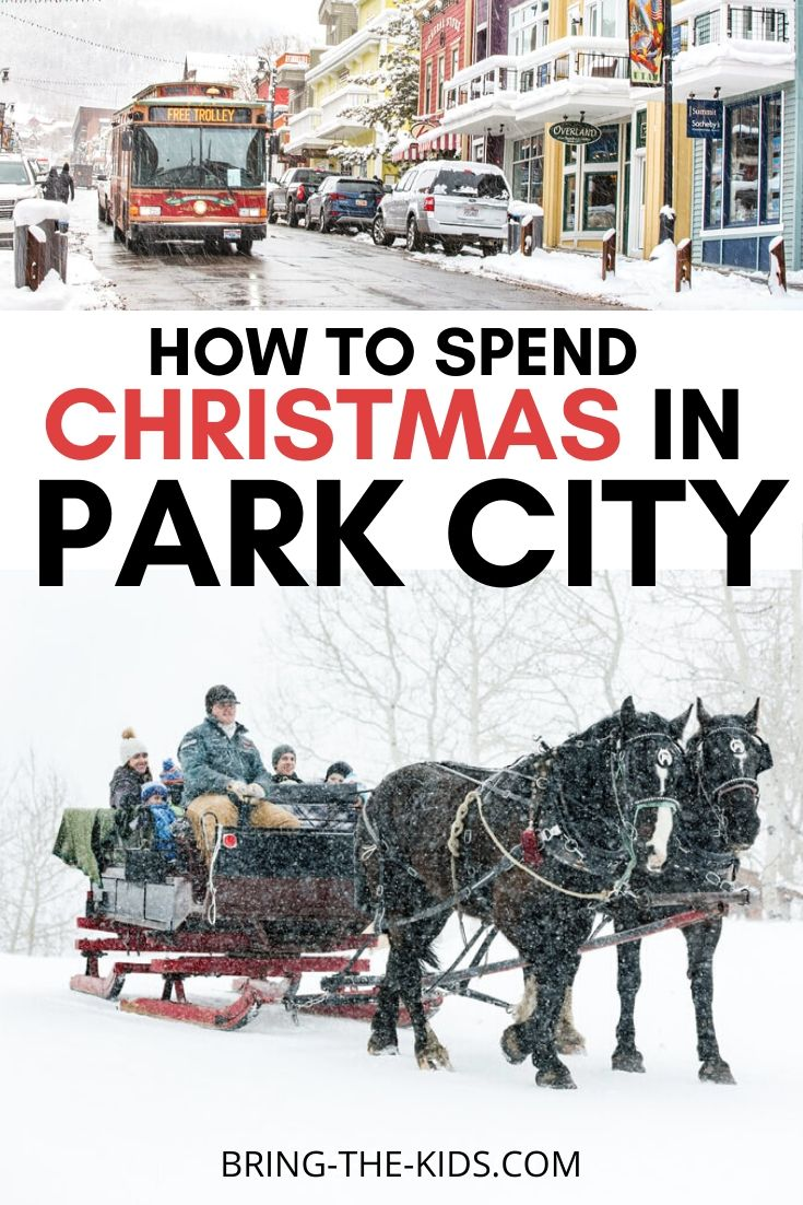 Enbracing the Magic of Park City Utah for Christmas 2019