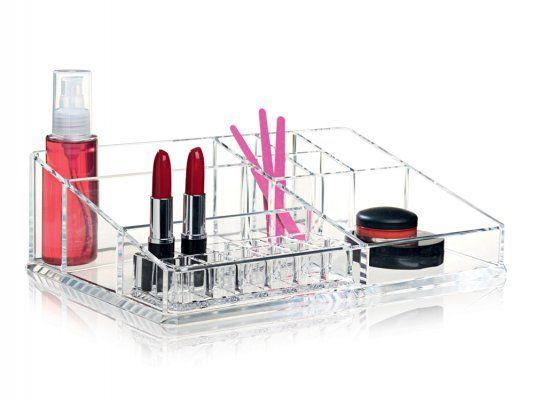 Clear Make Up Organizer XL Sminkställ | Nomess | Länna Möbler | Handla online
