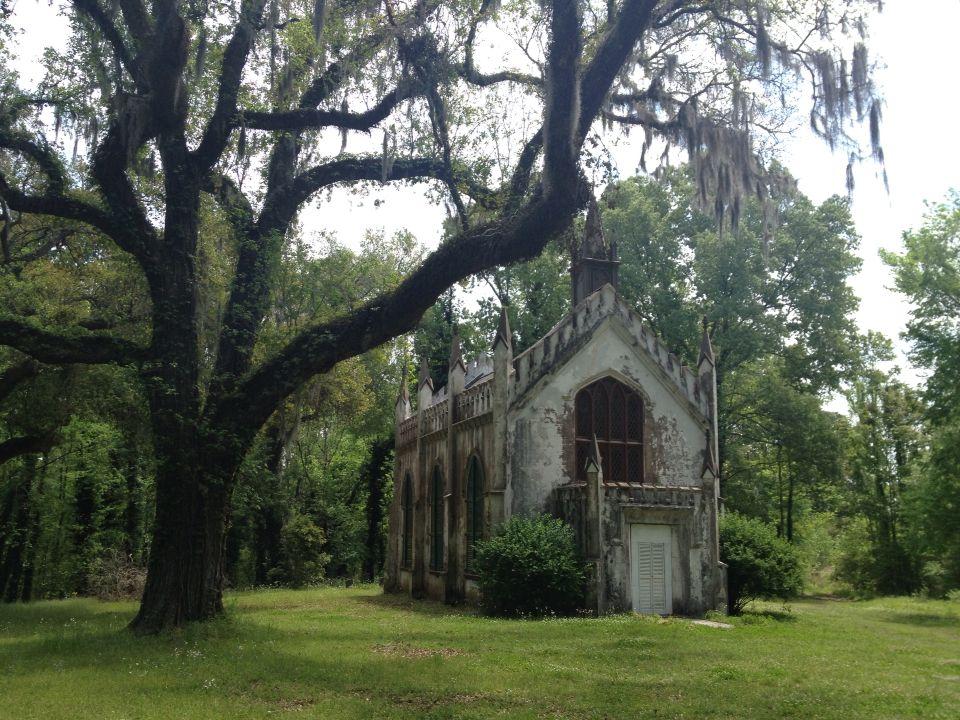 St Mary S Chapel Natchez Ms Abandonedwedding Bellswedding Venuesroad
