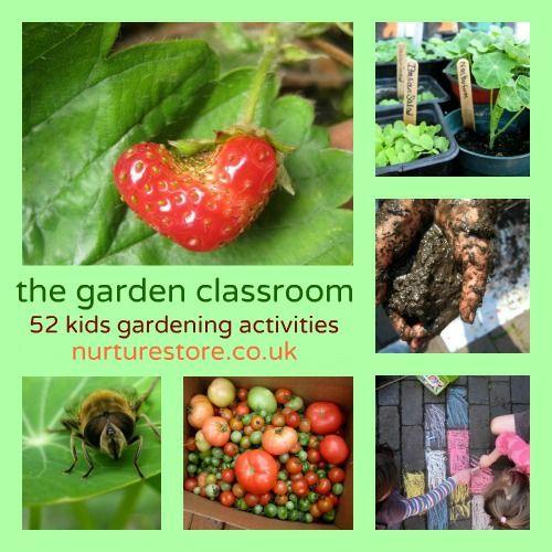 The Garden Classroom 52 Kids Gardening Activities Preschool Garden Activities For Kids Activities
