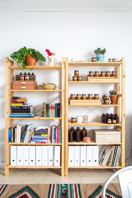 The Sunny Sweet-Scented Studio of P.F. Candle Co — Workspace Tour