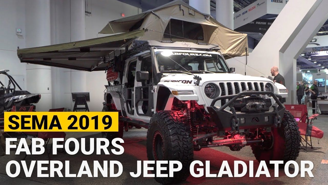 Fab Fours Off Road Overland Jeep Rubicon Gladiator At Sema 2019