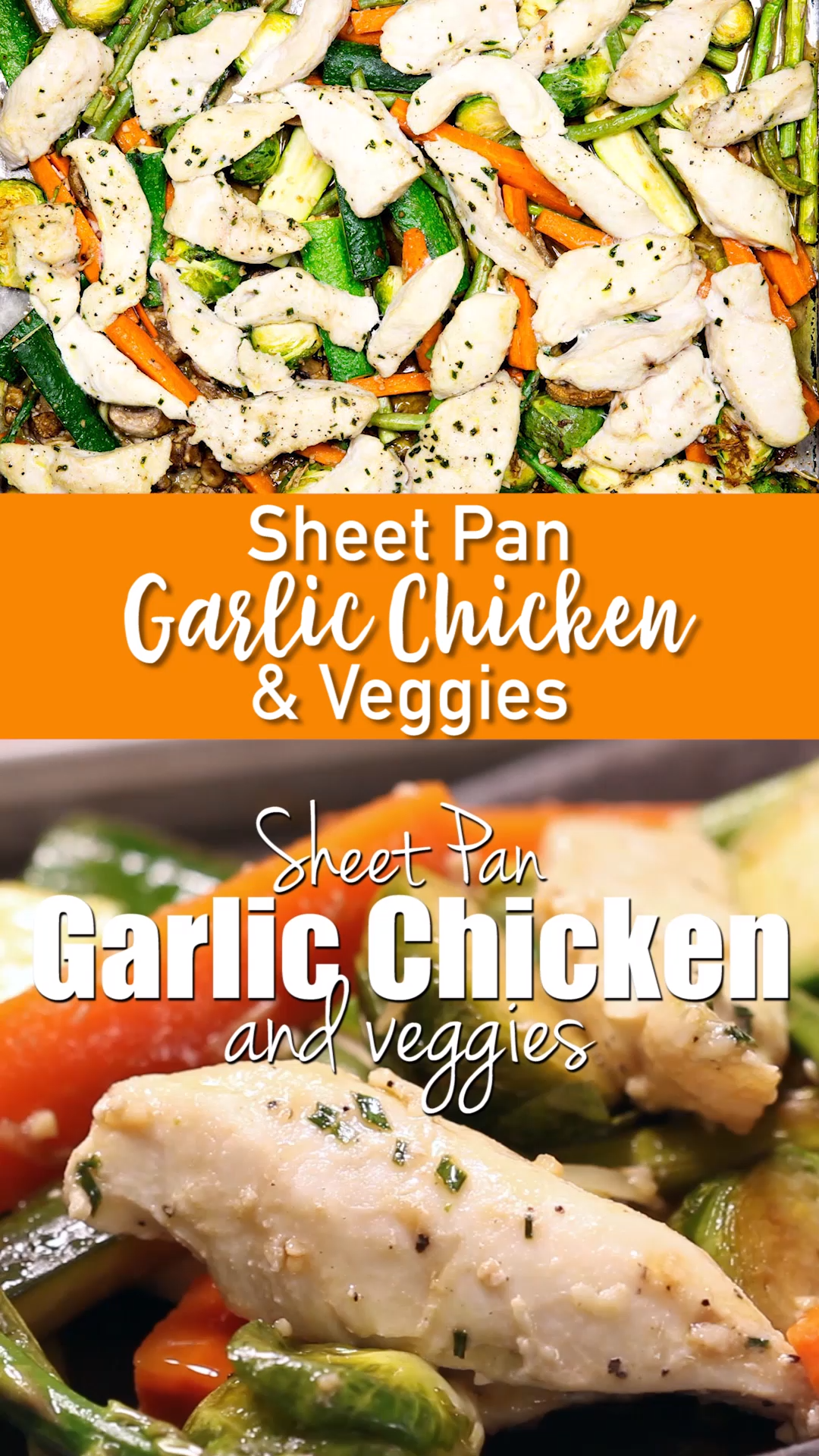 Garlic Chicken and Veggies -   13 healthy recipes For The Week veggies ideas
