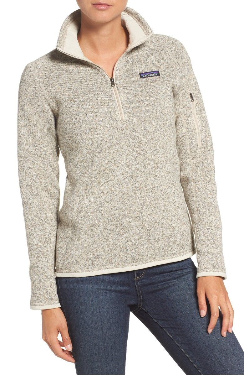 a0a0279162 Better Sweater' Zip Pullover, Main, color, Pelican | Clothes ...